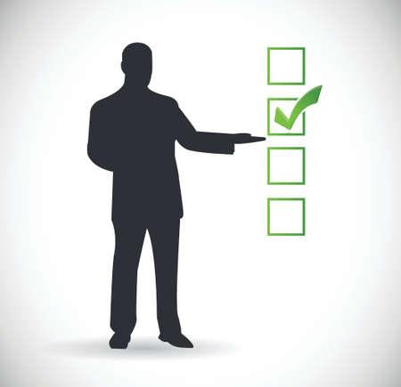 icon presentation check mark illustration design  Stock Vector - 22444834