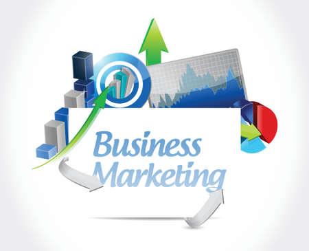 financial consultants: business marketing business diagram concept illustration design over white
