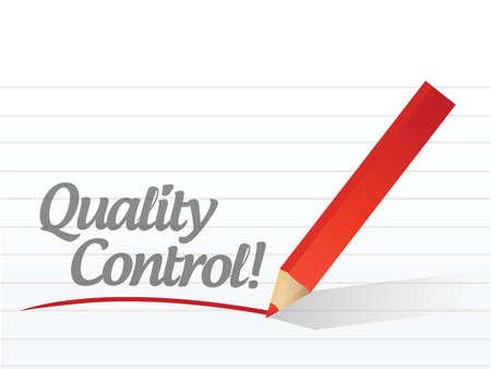 assured: control de texto escrito mensaje de ilustraci�n, dise�o, calidad en blanco Vectores