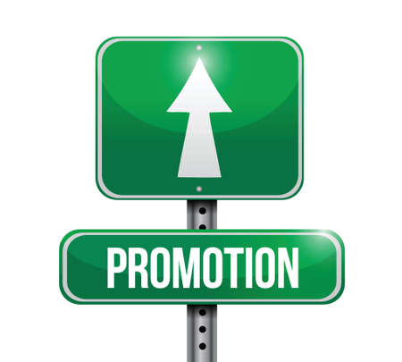 growth enhancement: promotion road sign illustrations design over a white background