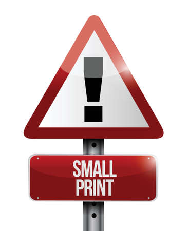 small print road sign illustration design over a white background