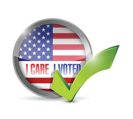 głosowało: Zależy mi Głosowałem uszczelnienie przycisk projektowania ilustracji na białym tle