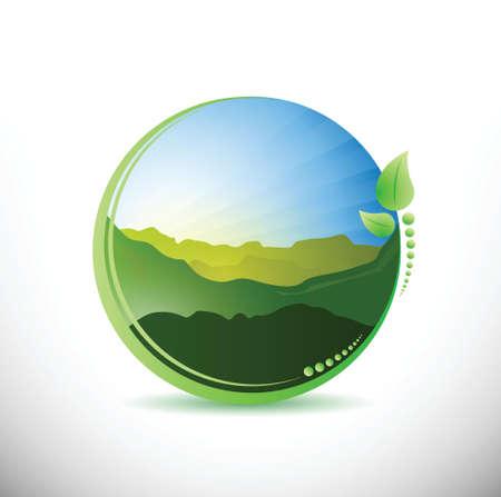 summer time concept illustration design over a white background Stock Vector - 23718906