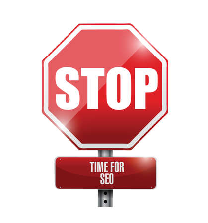 stop, time for sep concept road sign illustration design Stock Vector - 24651130