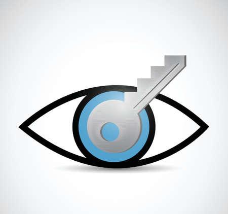 key visual idee illustratie ontwerp op een witte achtergrond