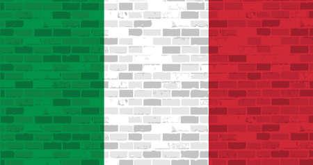 italian brick wall illustration design graphic background Çizim