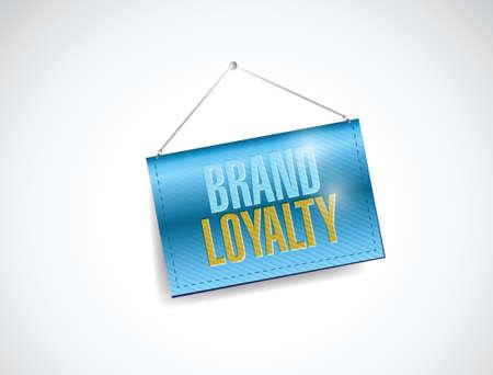 our: brand loyalty sign illustration design over a white background Illustration