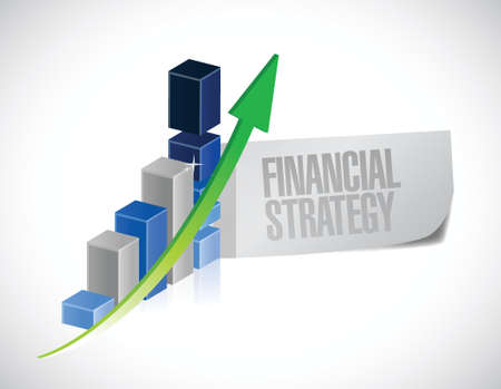 smart goals: business financial strategy sign message illustration design over a white background