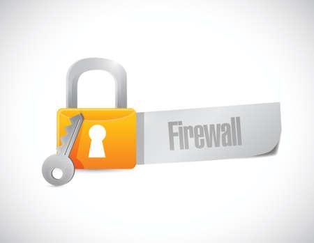 scam alert message lock illustration design over a white background