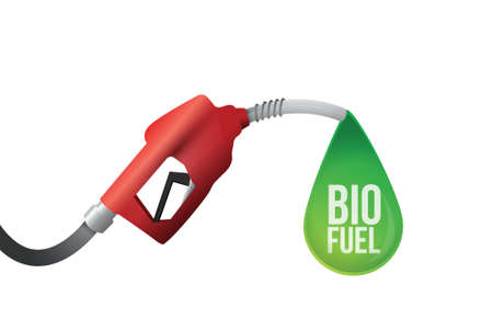 octane: bio fuel illustration design over a white background Illustration