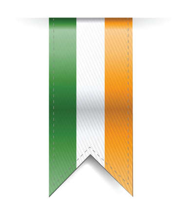 ireland banner illustration design over a white background Vector