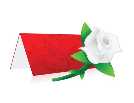 reservation sign illustration design over a white background