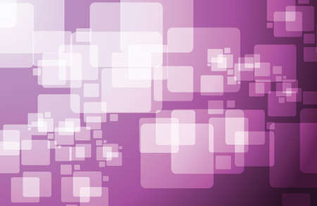 purple technology cubes modern illustration design graphic background