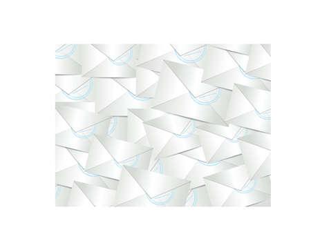 emails enveloppen grafische illustratie ontwerp witte achtergrond