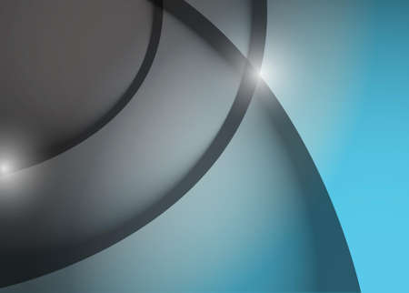 grey and aqua wave lines graphic illustration design background Illustration