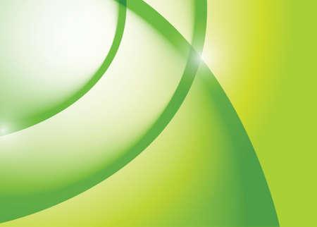 green wave lines graphic illustration design background