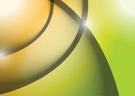 orange green wave lines graphic illustration design background