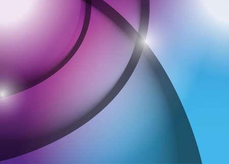 purple and blue wave lines graphic illustration design background Illustration