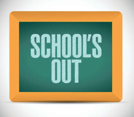 recap: schools our message illustration design over a white background Illustration