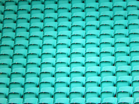 light green stadium chairs image. sports