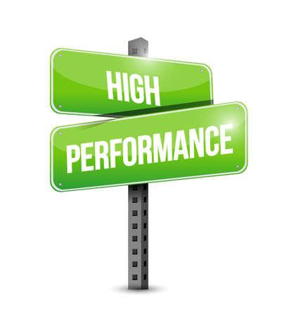 alto rendimiento: se�al de tr�fico ilustraci�n de alto rendimiento de dise�o sobre un fondo blanco