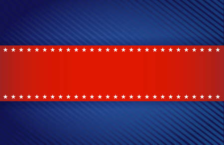 american history: red and blue patriotic illustration design background