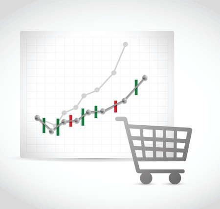 family mart: negozio di shopping numeri business design illustrazione su uno sfondo bianco