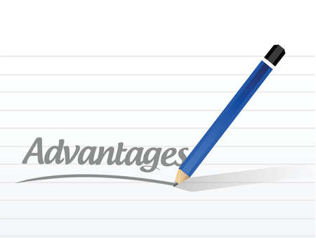 aluminum: advantage message sign illustration design over a white background Illustration