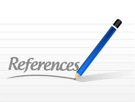 endorse: references message sign concept illustration design graphic