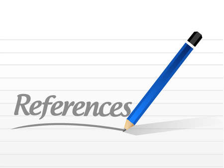 references message sign concept illustration design graphic