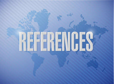 references world sign concept illustration design graphic