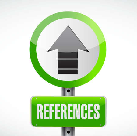 references road sign concept illustration design graphic Ilustrace