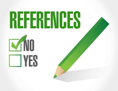 endorse: no references globe sign concept illustration design graphic Illustration