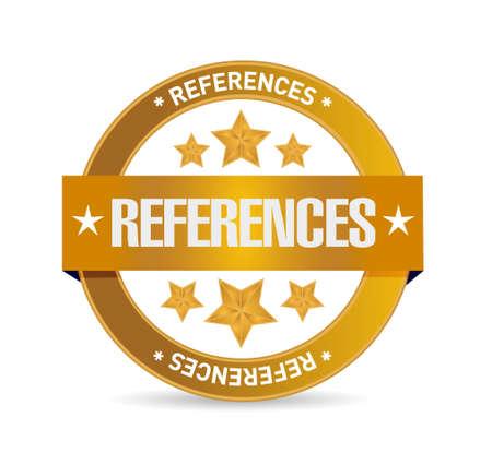 advertiser: riferimenti sigillo segno concetto illustrazione grafica