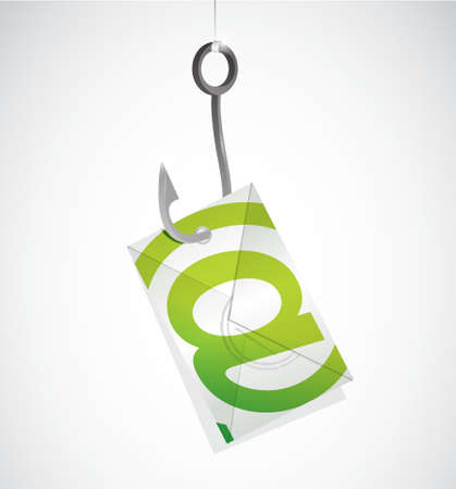 contact us hook mail illustration design graphic