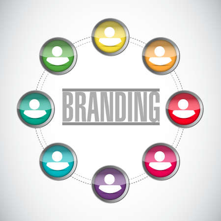 branding community sign concept illustration design graphic Çizim