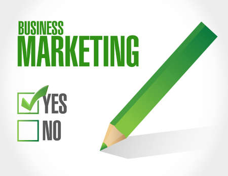 check sign: Business Marketing check list sign concept illustration design graphic