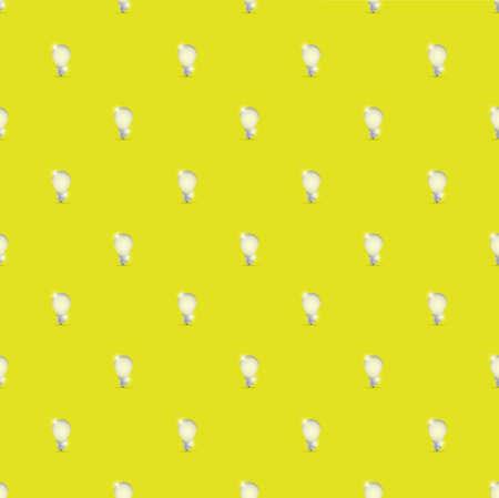 idea light bulb yellow background illustration design graphic Illusztráció
