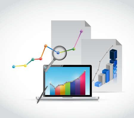 management concept: business management concept illustration design graphic icons Vectores