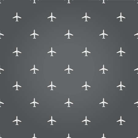 air plane travel black background illustration design graphic