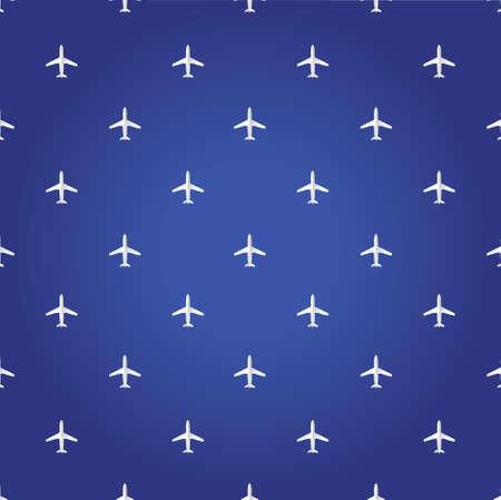 boeing: air plane travel blue background illustration design graphic