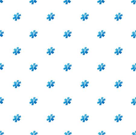 herald: medical symbol pattern illustration design graphic background