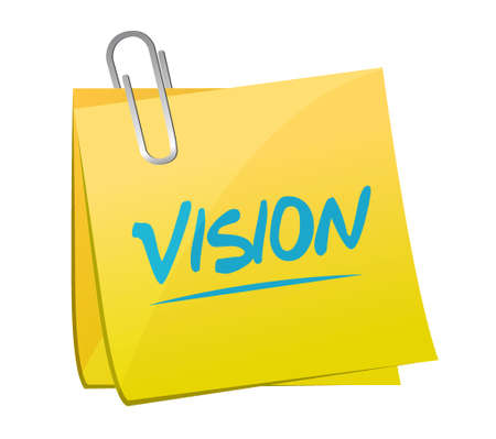 new opportunity: vision post sign concept illustration design graphic