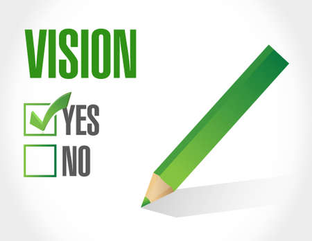 vision concept: good vision sign concept illustration design graphic