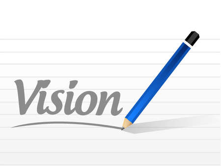 opportunity concept: vision message sign concept illustration design graphic