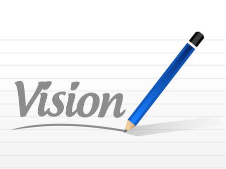vision message sign concept illustration design graphic