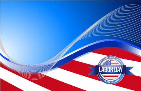 patriot day seal sign illustration design graphic background