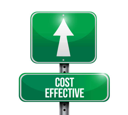 product signal: Cost effective road sign concept illustration design graphic Illustration