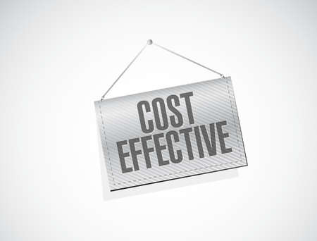 product signal: Cost effective hanging sign concept illustration design graphic