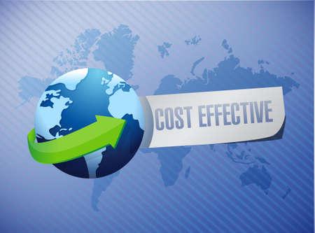 product signal: Cost effective international sign concept illustration design graphic Illustration